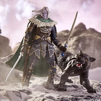 Dungeons &#038 Dragons Drizzt and Guenhwyver Figures Revealed by Hasbro