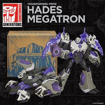 Transformers Prime 10th Anniversary Reveals Include Hades Megatron