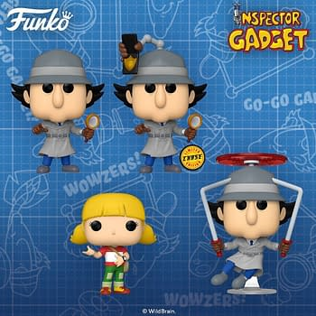 Inspector Gadget is Back Go Go Gadget Funko Pops