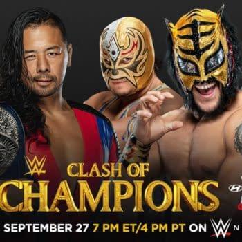WWE Clash of the Champions key art (Image: WWE)