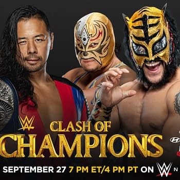 WWE Clash of Champions &#8211 Lucha House Party vs. Cesaro and Nakamura