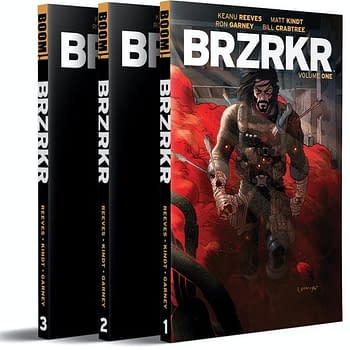 Keanu Reeves Comic BRZRKR Heads To Kickstarter