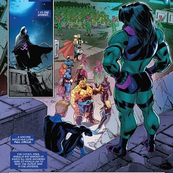Quoi Gives The Scooby-Doo Complaint in Empyre: Fantastic Four Fallout
