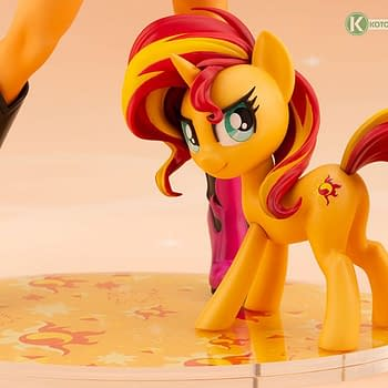 My Little Pony Sunset Shimmer Joins Kotobukiya With New Statue