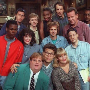 Saturday Night Live cast member Chris Rock (Image: NBCU)