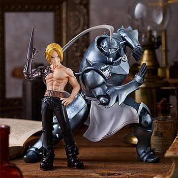 Full Metal Alchemist Pop Up Parade Statues Land at Good Smile