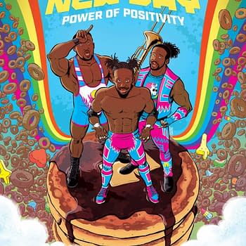 Boom To Publish WWE: The New Day: Power of Positivity Graphic Novel