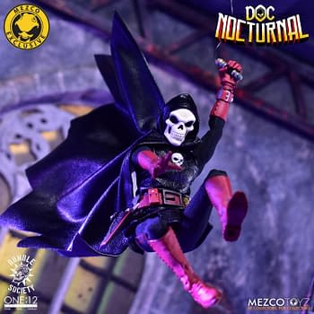 Mezco Toyz Unveils the One:12 Mystery Man Doc Nocturnal