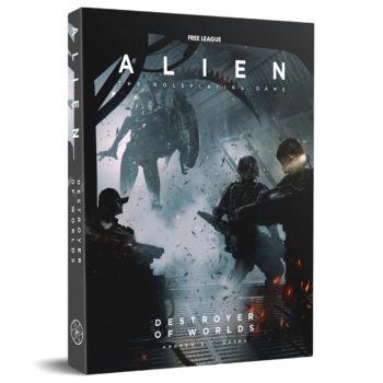 Alien: The RPG Receives Destroyer Of Worlds Module & Starter Set