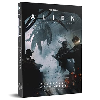 Alien: The RPG Receives Destroyer Of Worlds Module &#038 Starter Set