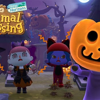 Nintendo Brings Halloween To Animal Crossing: New Horizons