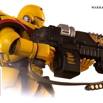 New Warhammer 40000 Space Marines Reporting for Duty with Bandai