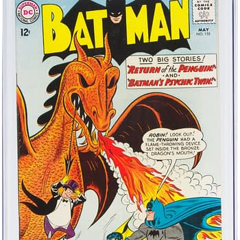 Batman Fights A Dragon On Iconic Cover On Auction At Heritage