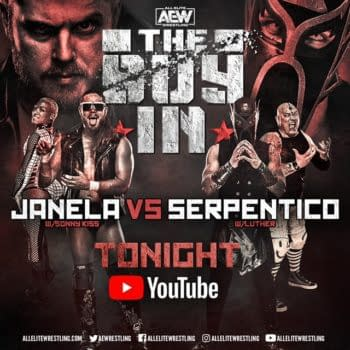 Joey Janela faces Serpentico on the Buy-In Pre-show for AEW All Out 2020.