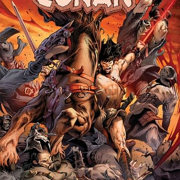 Kevin Eastman Creates His First Marvel Comic For King-Size Conan #1