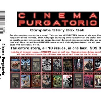 Cinema Purgatorio - 18 Issues For $40, FOC This Weekend