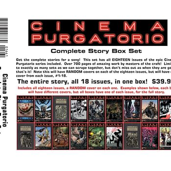 Alan Moores Cinema Purgatorio All 18 Issues For $40 FOCing Now