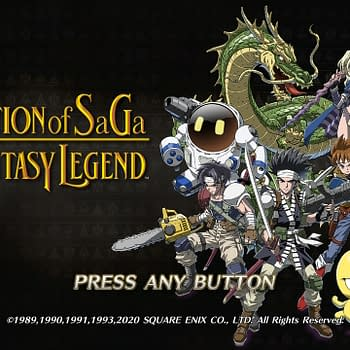 Square Enix Shows Off Collection Of SaGa Final Fantasy Legend