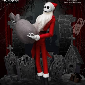 Nightmare Before Christmas Jack is Santa with Beast Kingdom