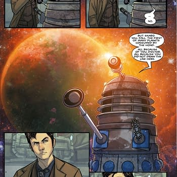 Preview of Doctor Who: Time Lord Victorious #2 Comic &#8211 Dalek Vs Hond