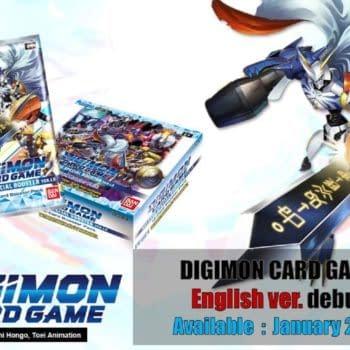 Digimon TCG Slated For Worldwide Release