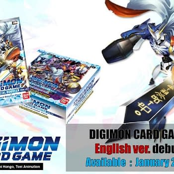 Digimon TCG Slated For Worldwide Release In January 2021