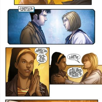 Preview of Doctor Who Comic #1