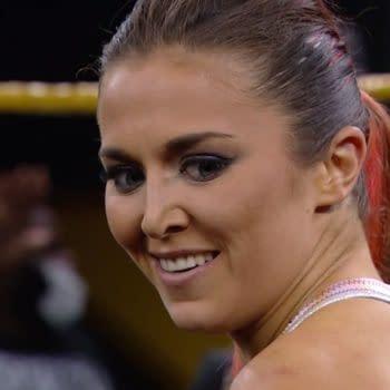 Tegan Nox appears on an episode of WWE NXT