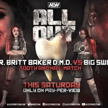 Britt Baker vs. Big Swole will now take place on the main card of AEW All Out