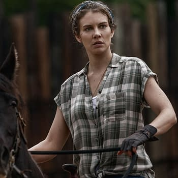 Lauren Cohan as Maggie in The Walking Dead (Image: AMC)