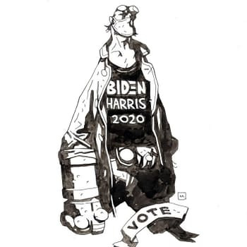Mike Mignola Suggests Nazi-Punching Hellboy Might Vote Biden/Harris