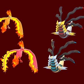 Giratina Origin Forme &#038 Moltres Are October Raid Bosses In Pokémon GO