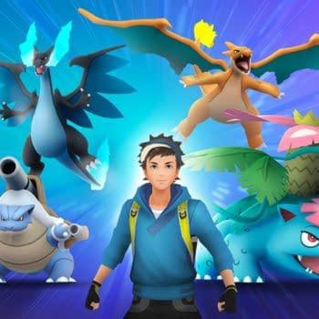 Shiny Blastoise, Charizard, & Venusaur in Pokémon GO Photobombs