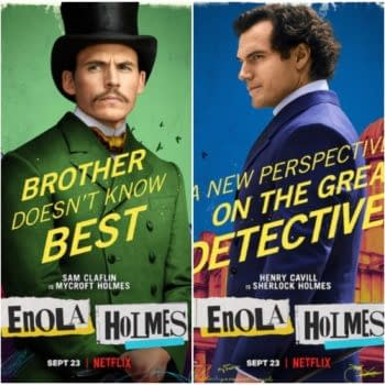 Enola Homes Character Posters Debuts Ahead Of Next Week's Debut