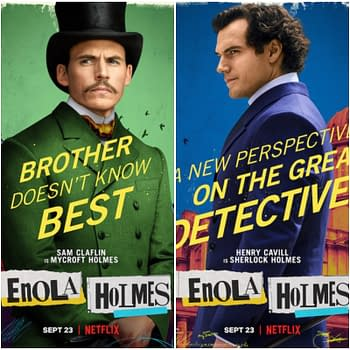 Enola Holmes Character Posters Debuts Ahead Of Next Weeks Debut