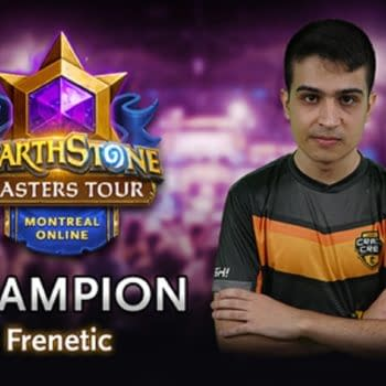 Frenetic Wins The Hearthstone Masters Tour Online: Montreal