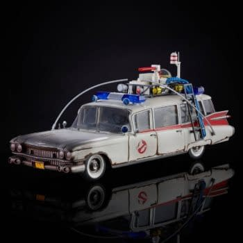 Ghostbusters: Afterlife Plasma Series Ecto-1 Has Arrived from Hasbro