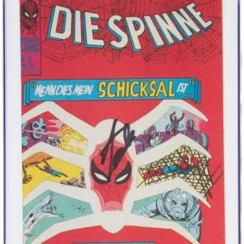 German Copy Of Amazing Spidey #32 Signed By Stan Lee At Heritage