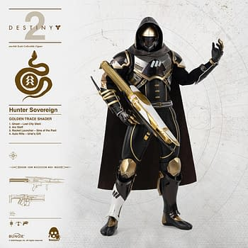 Destiny 2 Hunter Sovereign Heroes Get New Threezero Figures