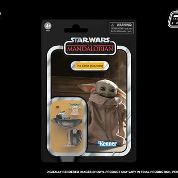 Star Wars The Child Vintage Collection Cardback Showcased by Hasbro