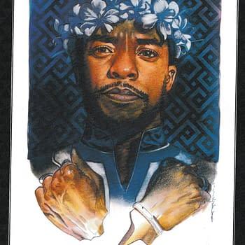 Ta-Nehisi Coates Tribute to Chadwick Boseman in Marvel Comics Today