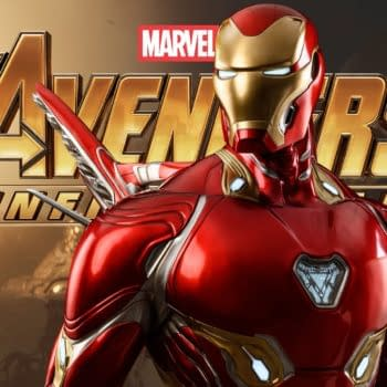 Iron Man Mark 50 Armor Gets New Life-Size Statue from Queen Studios