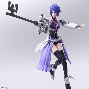 Kingdom Hearts III Aqua and Terra Arrive with Square Enix Bring Arts