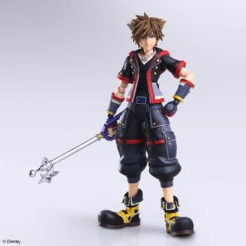 Kingdom Hearts III Sora and Riku Arrive with Square Enix Bring Arts