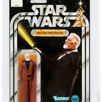 Kenner Star Wars Obi-Wan 12 Back C Card Figure At Heritage Actions