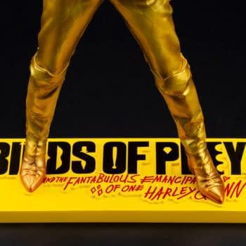 Harley Quinn Returns with New Birds of Prey Statue from Kotobukiya