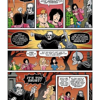 The Young Billy and Thea in Bill And Ted Are Doomed #1 Out Tomorrow