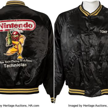 Nintendo Employee Metroid Jacket Up For Auction At Heritage