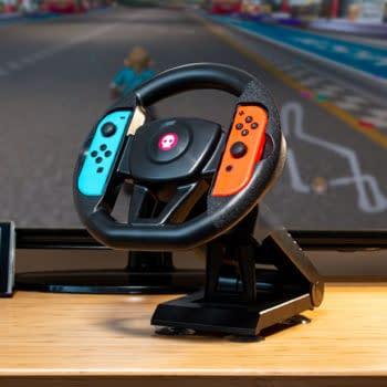Numskull Reveals Its New Nintendo Switch Steering Wheel