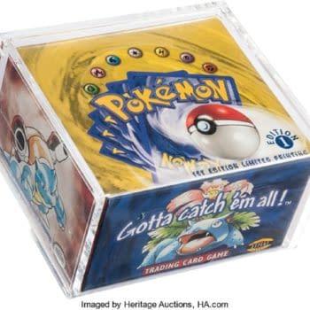 Pokémon TCG Base Set First Edition Box Now On Auction For $110K
